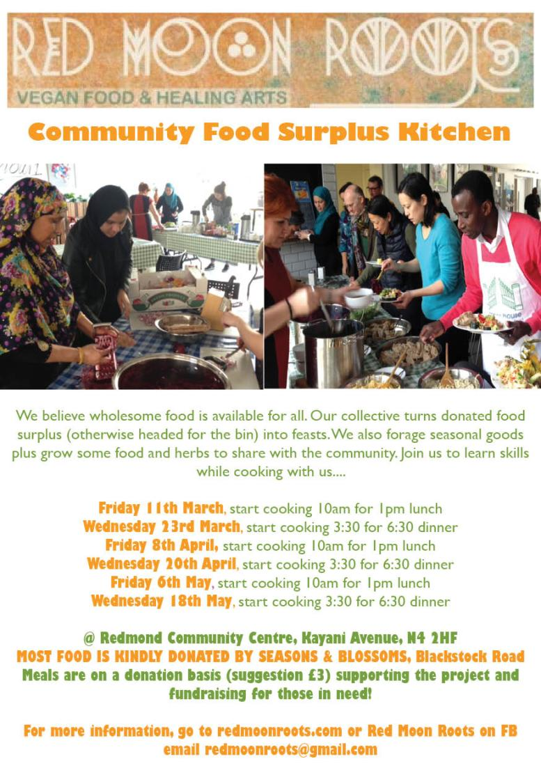 Food Surplus Kitchen Flyer 1